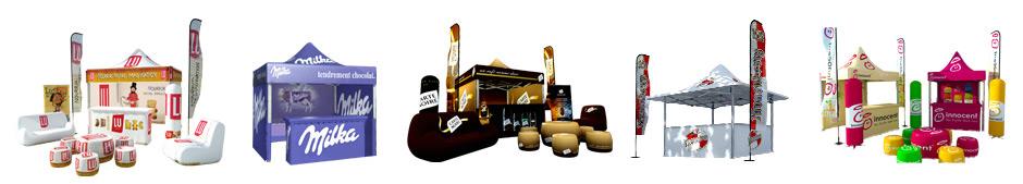 carpas personalizables - stand publicitario