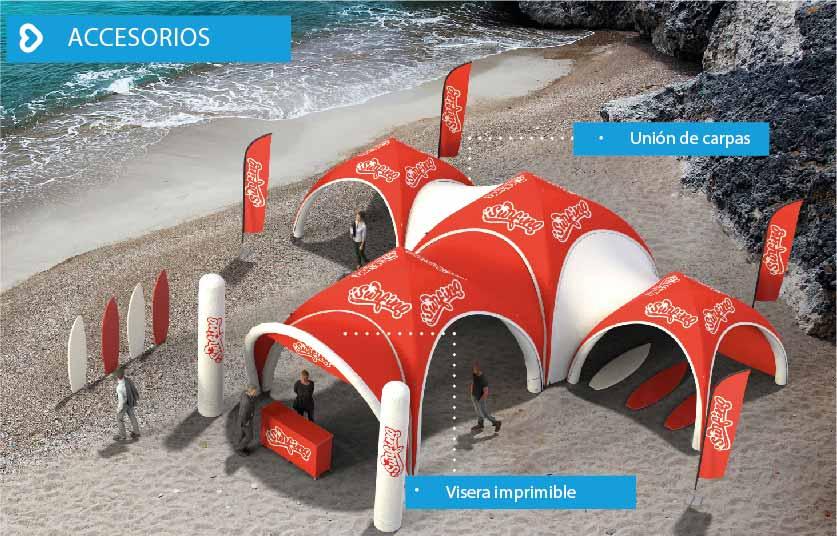 LPTENT Carpas inflables - Accesorios-02-02