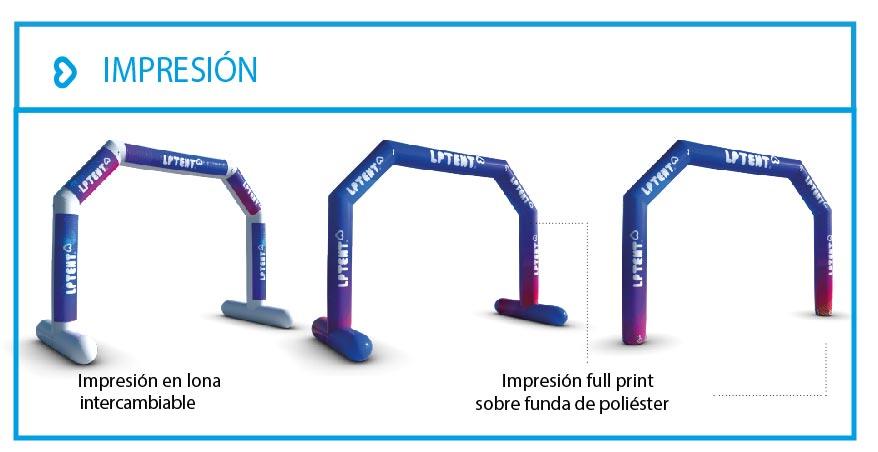 LPTENT Carpas inflables - Arcos inflables-09