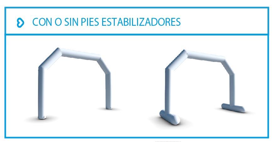 LPTENT Carpas inflables - Arcos inflables
