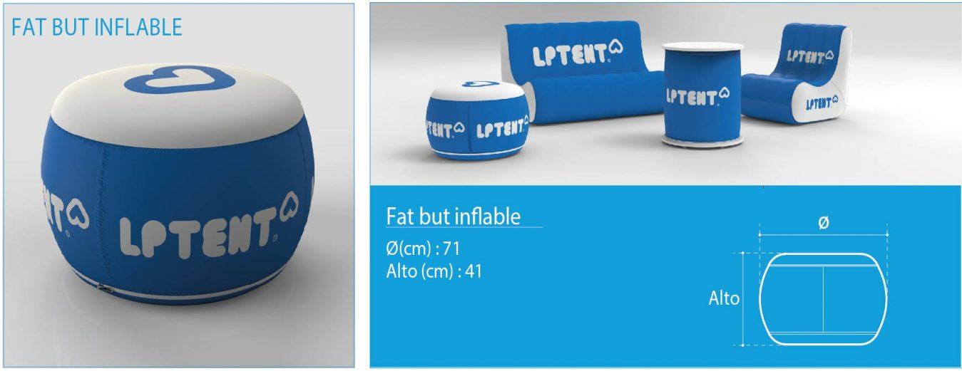 LPTENT Carpas inflables Mobiliario inflable