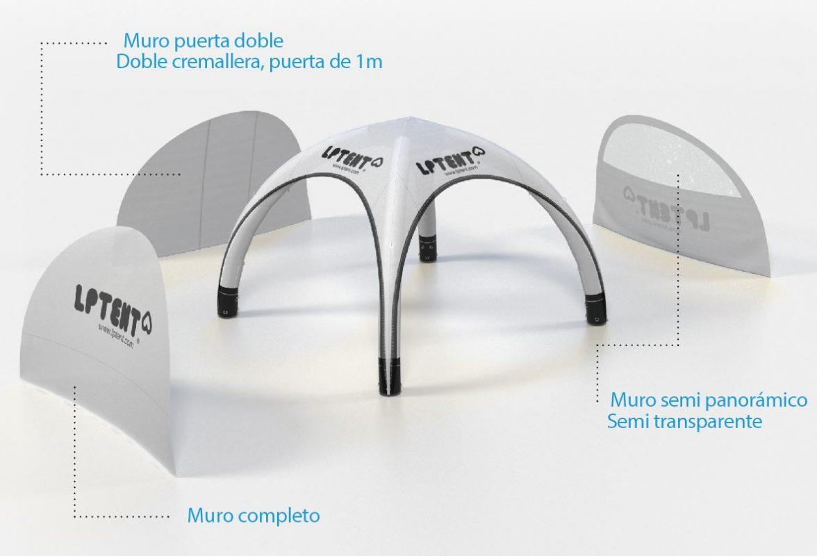 LPTENT Carpas inflables - Muros-01