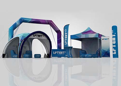 Detalles del adjunto LPTENT-Carpa-inflable-mobiliario-inflable-Soportes-de-Comunicación-Mobiliario