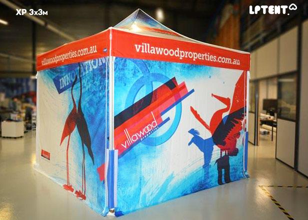 LPTENT Carpa plegable profesional XP-3x3m Personalizada-villawood