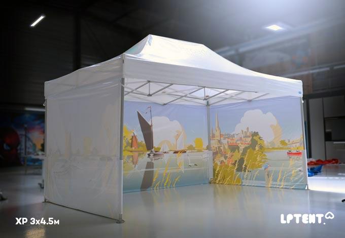 LPTENT Carpa plegable profesional carpa-XP-3x4.5m--Personalizada-en-interior-1