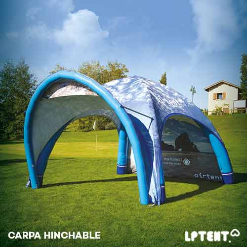 Carpa inflable Airmontster